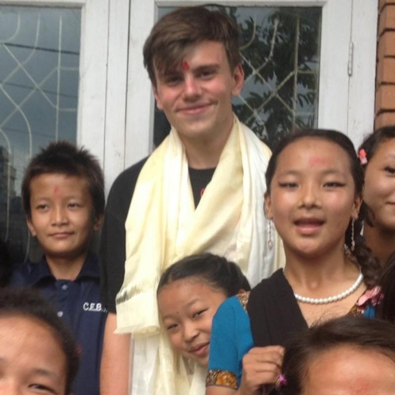 Marcin K in Nepal